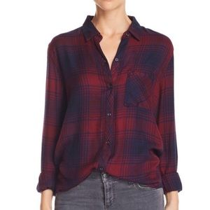 Rails Long sleeves button down shirt red XS